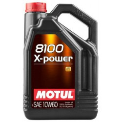 10W60 MOTUL 8100 X-POWER 5L