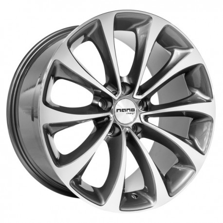 Nano BK845 Grey Polished