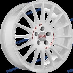 SUPERTURISMO WRC WHITE RED LETTERING