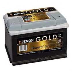 Akumuliatorius Jenox Gold 77Ah 760A